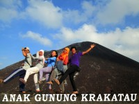 Paket Wisata Anak Gunung Krakatau Lampung indonesia