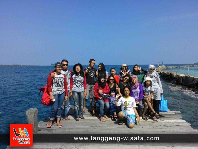 open trip pulau harapan indonesia