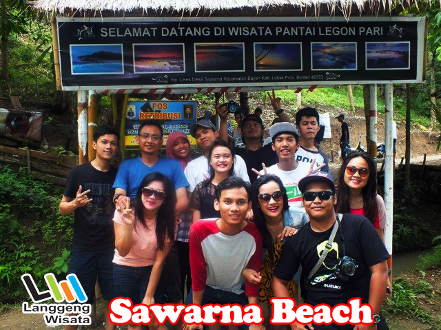 Paket Tour Sawarna Beach Indonesia